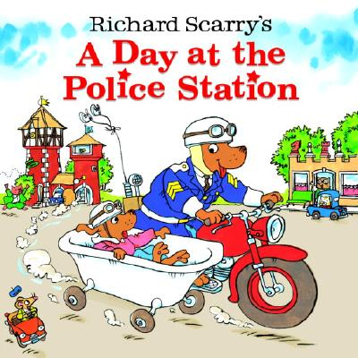 A Day at the Police Station By Scarry, Richard